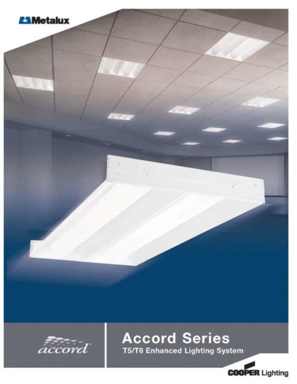 instalación de Luminaria volumetrica Accord
