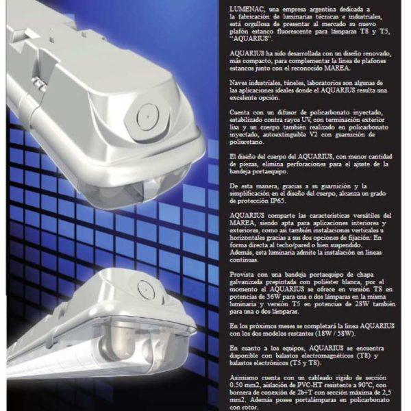 instalación de lámpara Nueva Hermetica IP 65 en quito