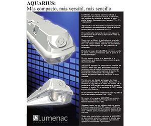 instalación de lámpara Nueva Hermetica IP 65