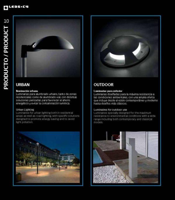 instalación de Productos LEDS-C4 en quito