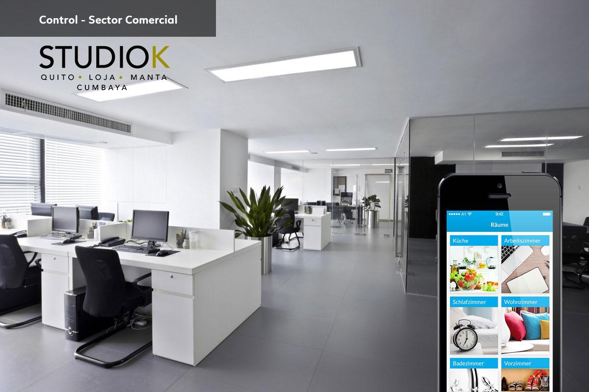 control comercial studio k