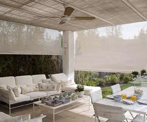 instalación de cortinas exterior toldo
