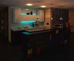 iluminación de cocina en quito