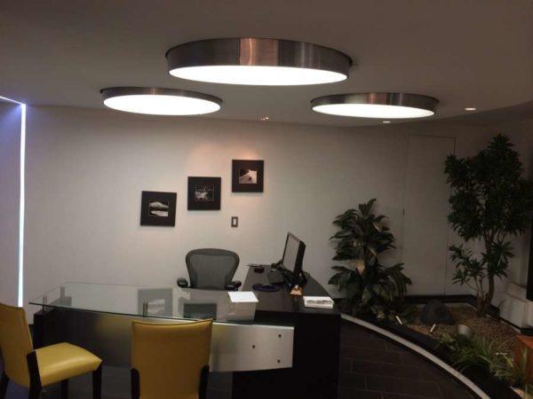 iluminación profesional de salas de estudio