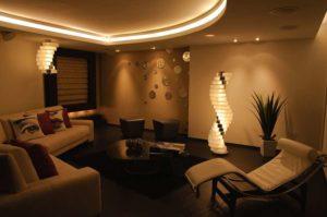 iluminación profesional salas en quito