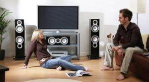 instalación de sistemas de audio para la salas