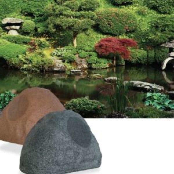 parlantes tipo roca para exteriores